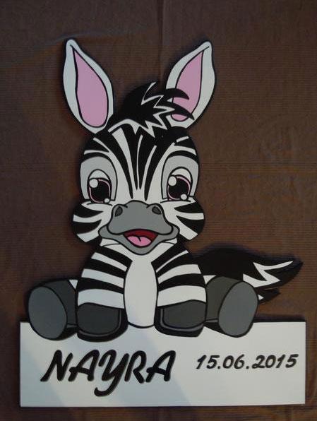 Geburtstafel_Zebra