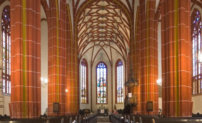 Blick in die Johanneskirche