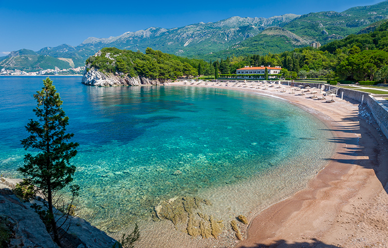 Montenegro_Badebucht