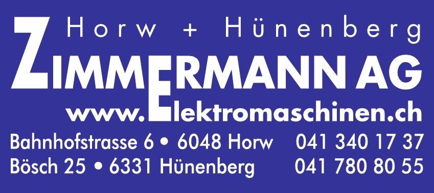 Zimmermann AG Elektromaschinen