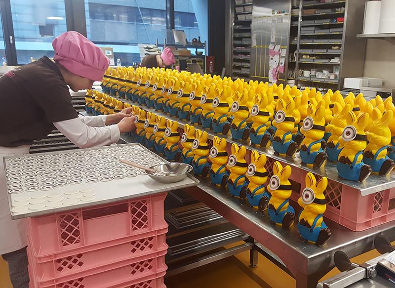 Osterhasen_Produktion