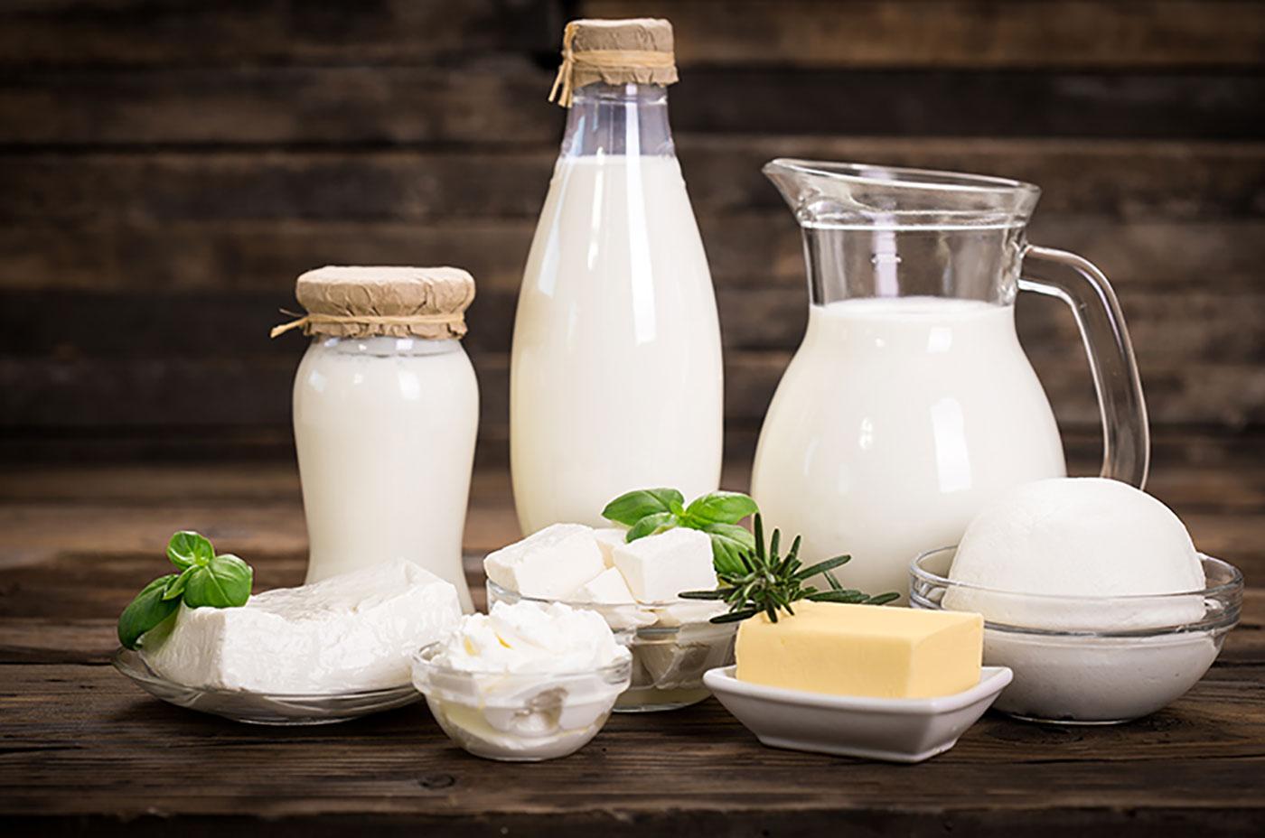 Leckere Produkte Aus Kuh- Und B U00fcffelmilch
