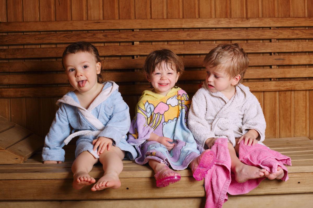 sauna mit kindern gut f r die gesundheit oder risiko. Black Bedroom Furniture Sets. Home Design Ideas