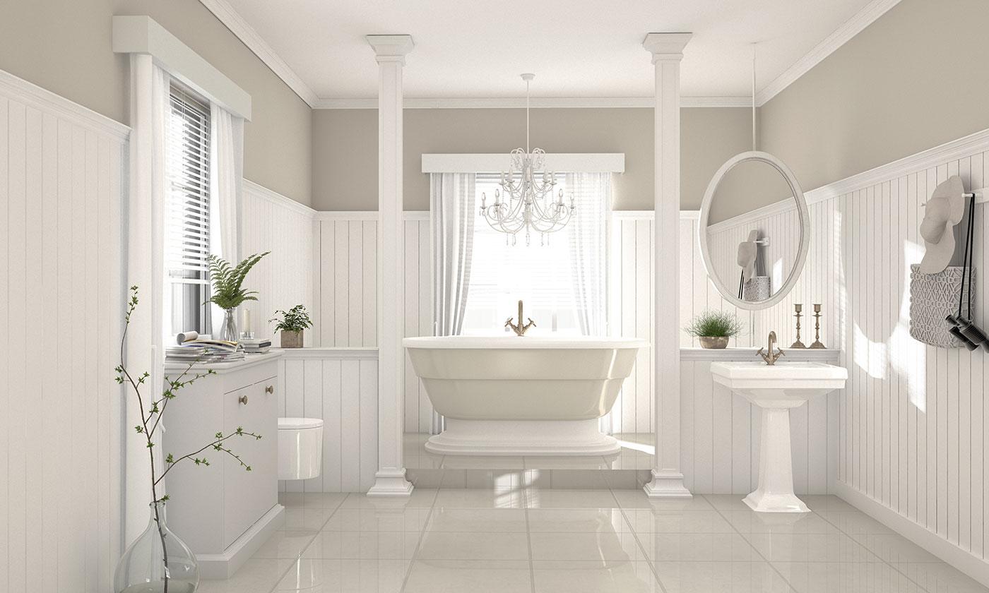 Nostalgie im Badezimmer: Einrichtung mit Liebe zum Detail