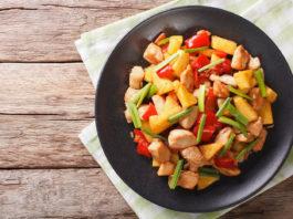 Ananas Poulet Salat
