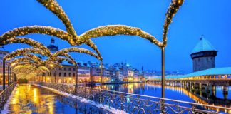 Lozärner Wiehnachtsmärt Lichter