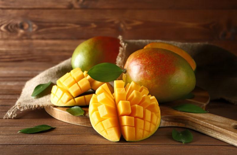 Mangos schneiden