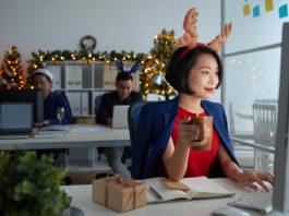 Weihnachtsstimmung im Unternehmen